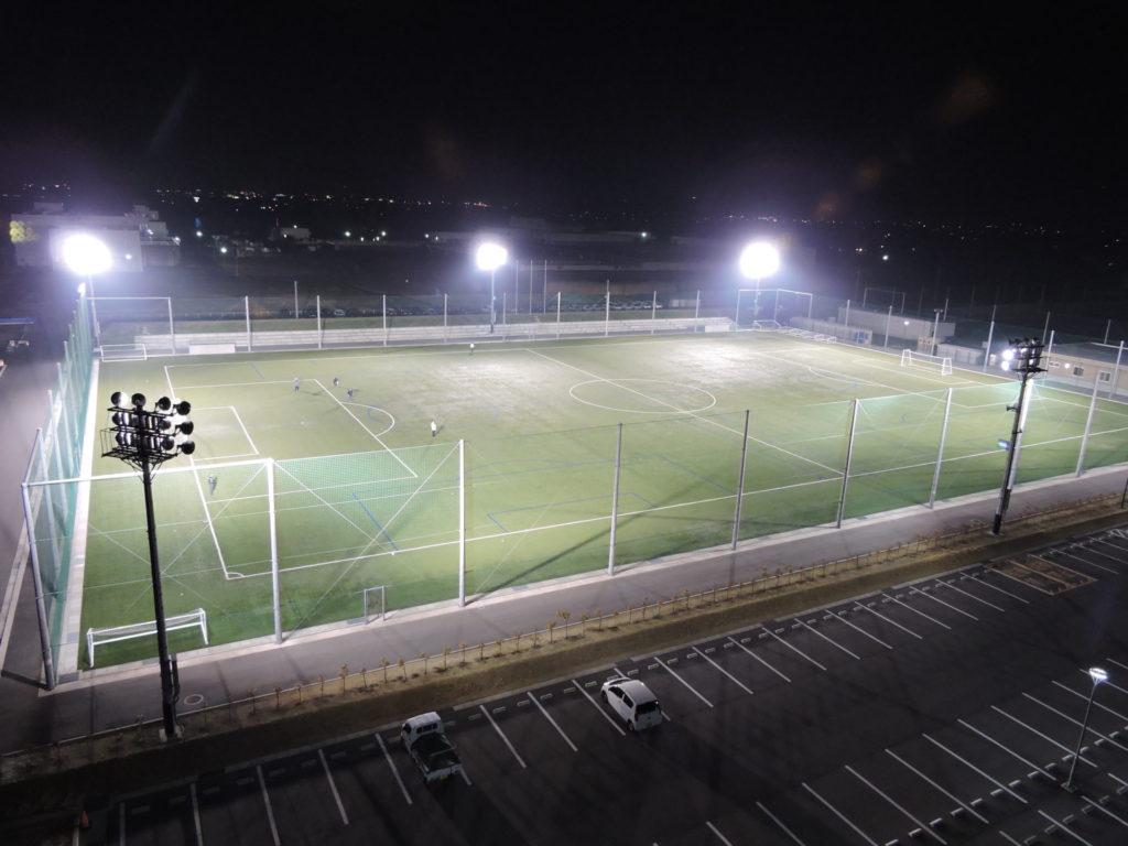 政田 サッカー 場
